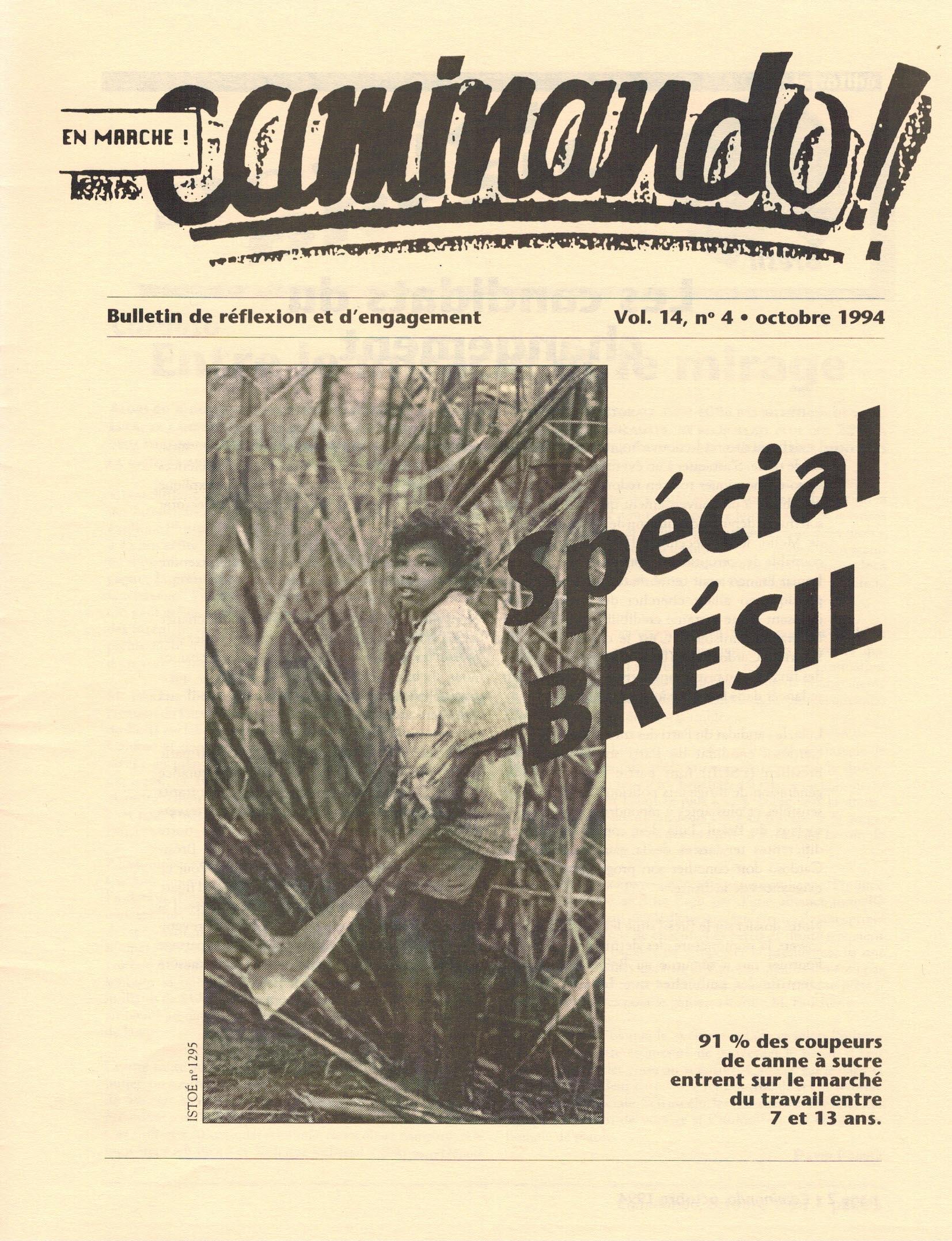 Caminando-vol14-No4-octobre1994_couverture