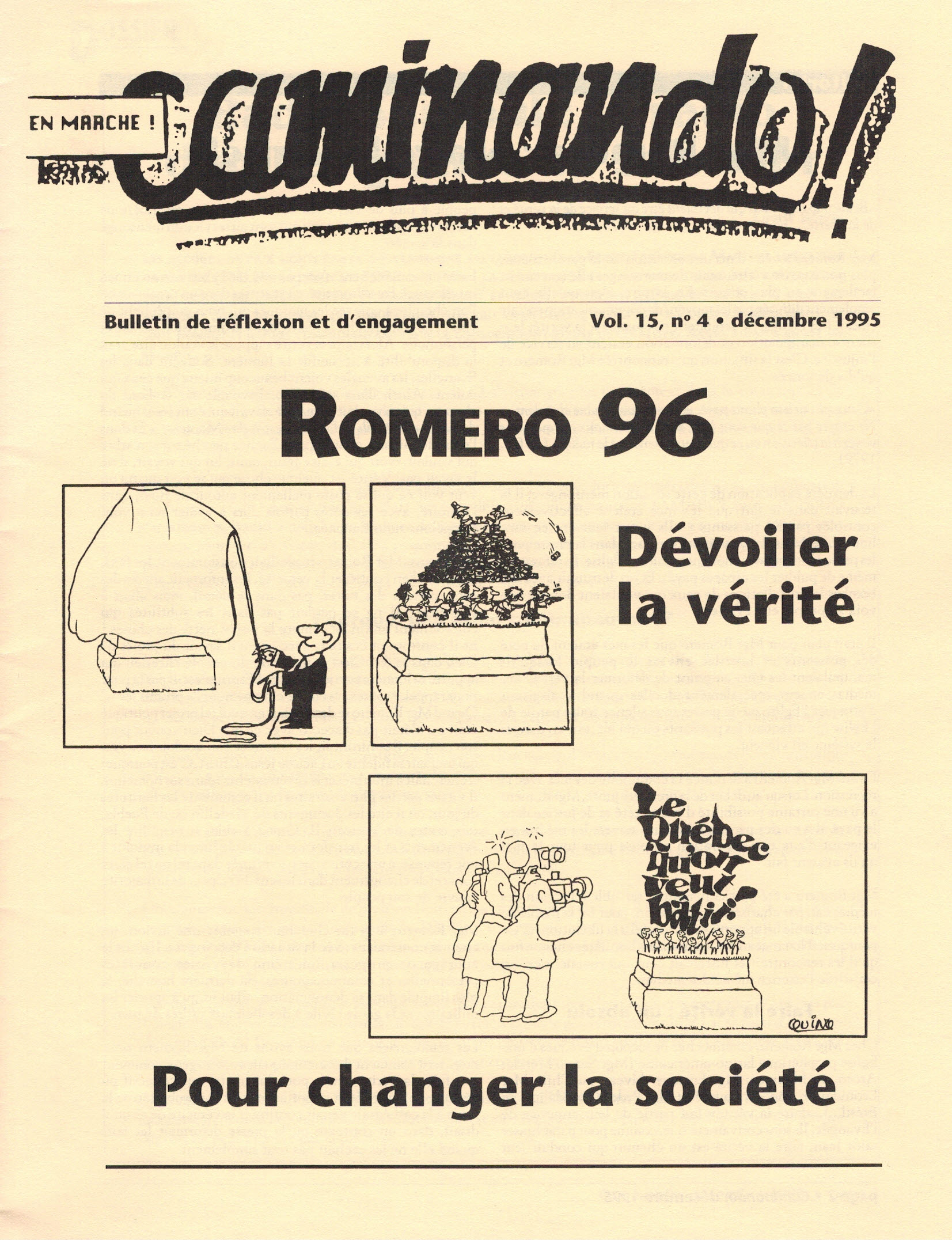 Caminando-vol15-No4-décembre1995_couverture