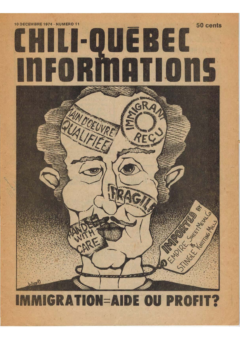 Chili-Québec Informations, no. 11, décembre 1974