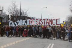 Manifestation contre le Sommet des Amériques, 21 avril 2001
