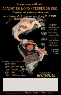 """Caravane solidaire """"Argent du Nord / Terres du Sud"""", 2006 / Archives du CDHAL"""
