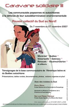 3e caravane solidaire « Pouvoir collectif du Nord au Sud / Archives du CDHAL