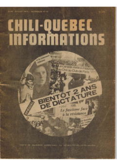 Chili-Québec Informations, no. 15-16, juin-juillet 1975