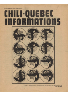 Chili-Québec Informations, no. 4-5, février-mars 1974