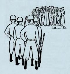 Illustration tirée de la revue Caminando, vol. 1, no. 3, juin 1980 / Archives du CDHAL
