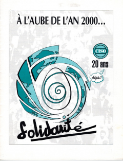 20 ans de solidarité 1995 CISO