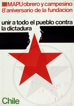 8° Anniversaire Mouvement d'action populaire unitaire MAPU 1978 / Courtoisie du Centre de recherche en imagerie populaire CRIP