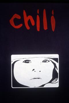 Affiche Chili / Courtoisie du Centre de recherche en imagerie populaire CRIP
