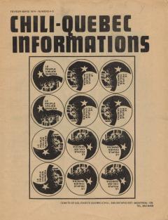 Bulletin Chili-Québec Informations Nº4-5 Février-Mars 1974
