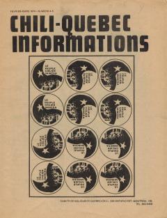 Bulletin Chili-Québec Informations Nº4-5 Février-Mars 1974 / Courtoisie de Suzanne Chartrand – Comité Québec-Chili