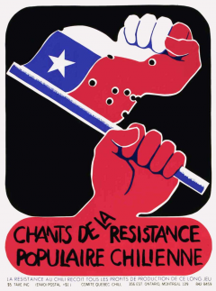 Chants de la résistance populaire chilienne / Courtoisie du Centre de recherche en imagerie populaire CRIP