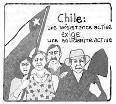 Chili: une résistance active exige une solidarité active / Courtoisie Suzanne Chartrand – Comité Québec-Chili