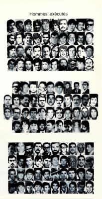 Exécutés politiques pendant la dictature au Chili / Courtoisie du  Comité chilien pour les droits humains