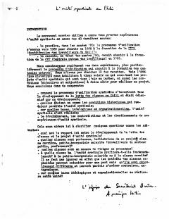 L'unité Syndicale au Chili / Courtoisie de Suzanne Chartrand – Comité Québec – Chili