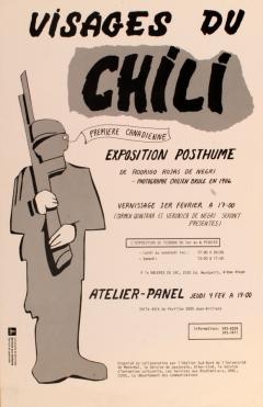 Exposition Visages du Chili Rodrigo Rojas de Negri / Courtoisie du Centre de recherche en imagerie populaire CRIP