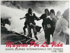 Journée internationale des femmes 1986 Chili / Courtoisie du Centre de recherche en imagerie populaire CRIP