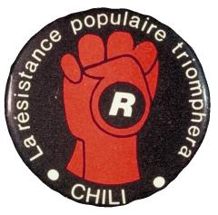 La résistance populaire triomphera Chili / Courtoisie du Centre de recherche en imagerie populaire CRIP