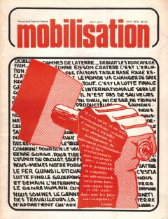 Revue Mobilisation Avril 1975 / Courtoisie d'Yves Laneuville