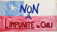 Non à l'impunité au Chili Comité chilien pour les droits humains / Courtoisie du Comité chilien pour les droits humains