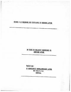 Ottawa à la rescousse des Etats-Unis en Amérique latine / Courtoisie de Suzanne Chartrand – Comité Québec – Chili