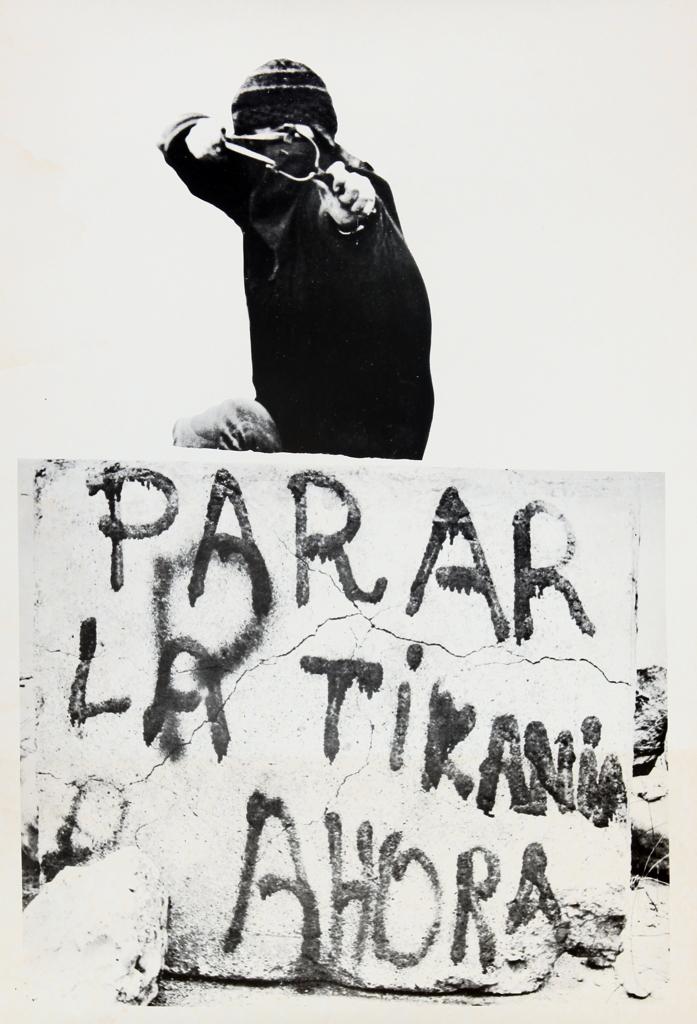 Parar la tiranía ahora Chili / Courtoisie du photographe Luis Cerpa