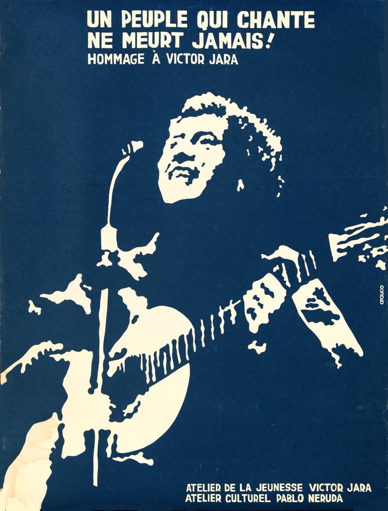 Un peuple qui chante ne meurt jamais. Hommage Victor Jara / Courtoisie du photographe Luis Cerpa