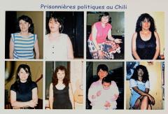 Prisonnières politiques au Chili 2 – Comité des femmes chiliennes de Montréal / Courtoisie du Comité chilien pour les droits humains