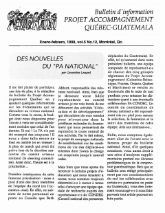 Vol.5_No.12 – Janvier – Février 1998