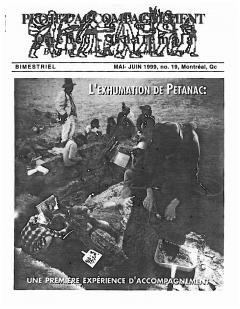 Bulletin d'information PAQG Nº 19 Mai – Juin 1999 / Courtoisie du Projet Accompagnement Québec-Guatemala