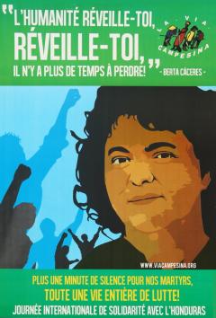 Journée internationale de solidarité avec le Honduras