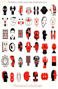 Illustradores con Ayotzinapa, 2016
