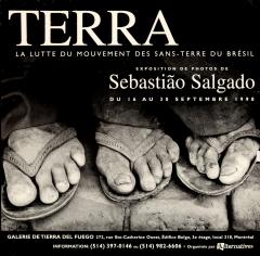 Terra la lutte du mouvement des Sans-Terre au Brésil expo photo organisée par Alternative 1998