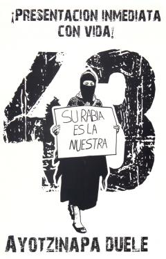 marche de l'EZLN en appuis au 43 faltan d'Ayotzinapa, 2014