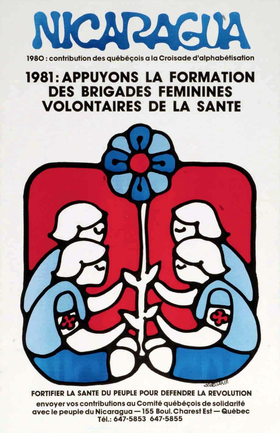 Appuyons la formation des brigades féminines volontaires pour la santé, 1981