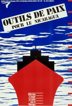 Campagne Outils de paix pour le Nicaragua. Un navire pour le Nicaragua