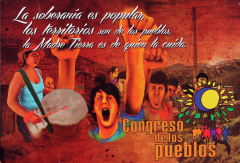 Congreso de los Pueblos, Bogotá, 24 et 25 novembre 2011