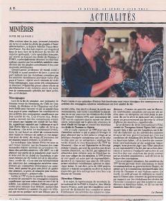 Des minières canadiennes au banc des accusés, 2 juin, 2014, version papier