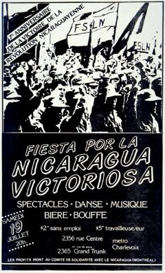 Fiesta por la Nicaragua victoriosa, 19 juillet 1986