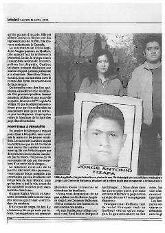 Fouetter les consciences pour retrouver son fils, LeSoleil, 18 avril 2015, II