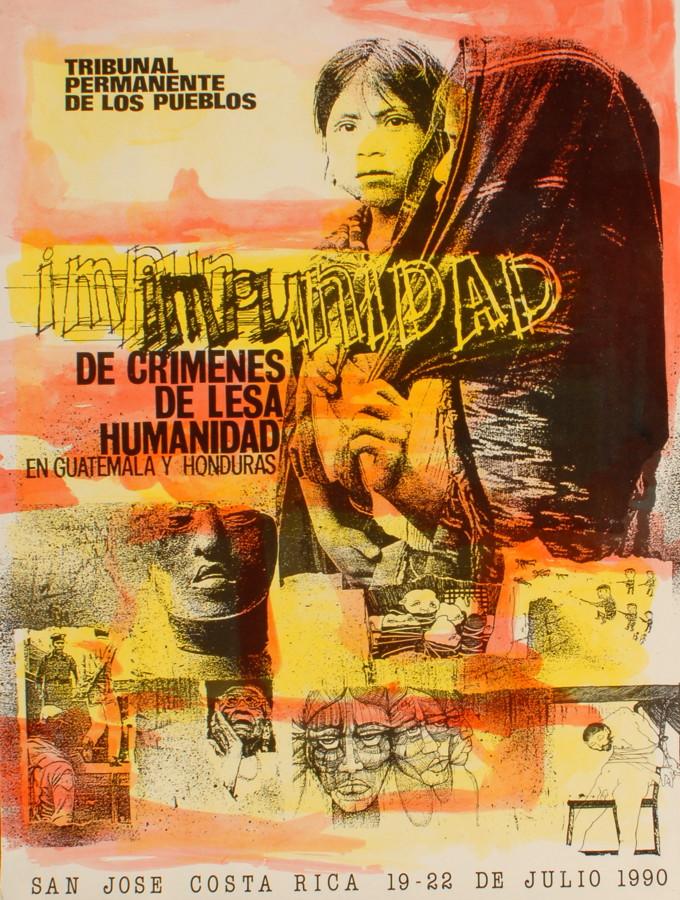 Impunidad de crimenes de lesa humanidad en Guatemala y Honduras, del 19 al 22 de julio 1990