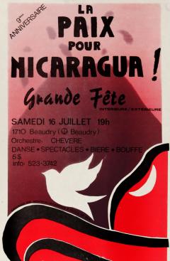 La paix pour Nicaragua, 1988