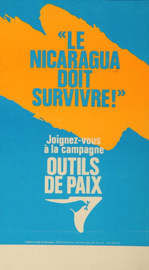 Le Nicaragua doit survivre, 2011