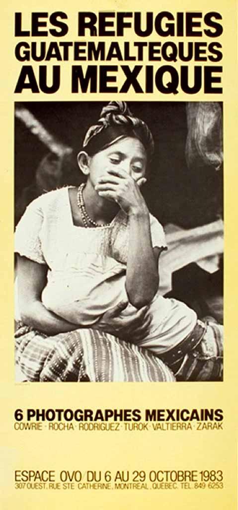 Les réfugiés guatémaltèques au Mexique, du 6 au 29 octobre
