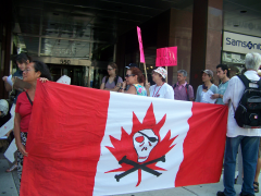 Manifestation contre les mines à ciel ouvert, 22 juillet 2010 CDHAL 004
