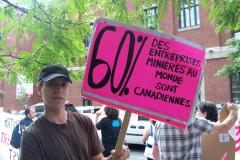 Manifestation contre les mines à ciel ouvert, 22 juillet 2010, CDHAL 013