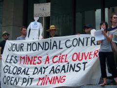 Manifestation contre les mines à ciel ouvert, 22 juillet 2010, CDHAL 017