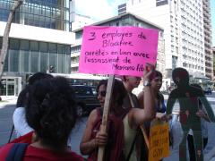 Manifestation contre les mines à ciel ouvert, 22 juillet 2010, DSC09134