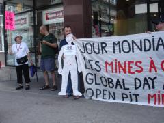 Manifestation contre les mines à ciel ouvert, 22 juillet 2010, DSC09135