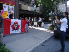 Manifestation contre les mines à ciel ouvert, 22 juillet 2010, DSC09137