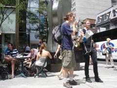 Manifestation contre les mines à ciel ouvert, 22 juillet 2010, DSC09142